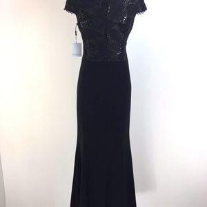 07bbf1eb1392 Calvin Klein Dresses - Calvin Klein Sequined Lace Mermaid Gown